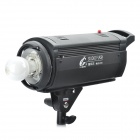 Professional Digital 400W/S 5200K White Light Shadow Room Flash Lamp / Studio Light Kits - Black