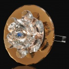 Crystal Flower 20W 1-Halogen Bulb Warm White Light Decorative Ceiling Lamp w/ Driver (AC 220V)