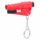 3-in-1 Whistle / Seat Belt Cutter / Window Breaker Keychain (Random Color)