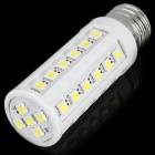 E27 8.2W 490-620LM 6000-7000K 41-SMD White Corn Light Bulb (220V)