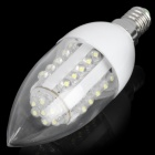 E14 2.2W 200-260LM 6000-7000K 37-LED White Corn Light Bulb (220V)