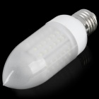 E27 4.68W 450-550LM 6000-7000K 78-LED White Corn Light Bulb (220V)