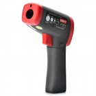 "UNI-T UT301A 1.7"" LCD Digital Infrared Thermometer - Red + Iron Gray (6F22)"
