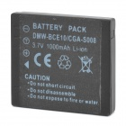Replacement DMW-BCE10 / S008 3.7V 1000mAh Battery for Panasonic Lumix DMC-FX35A + More