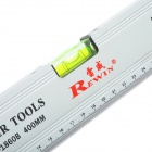 Rewin WSP-1860B 400mm Magnetic Aluminum Alloy Ruler w/ 3 Bubble Spirit Level Gradienters