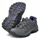 Camssoo Outdoor Sports Climbing Hiking Shoes for Women - Gray Purple (Size-EUR38/Pair)