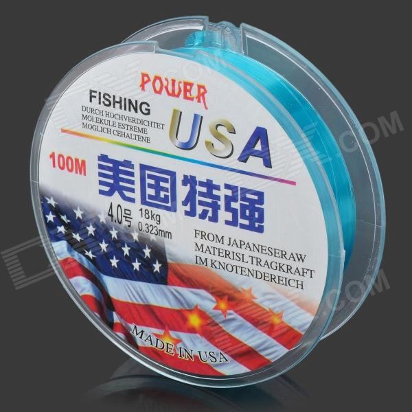 0.32mm 100M Resin Fishing Line / Thread -Blue (#4)