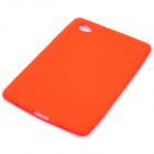Protective Silicone Back Case for Samsung P6800 - Red