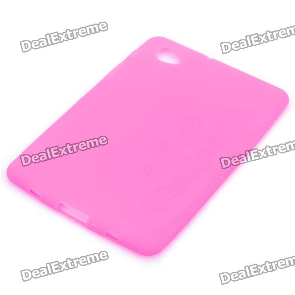 Protective Silicone Back Case for Samsung P6800 - Pink