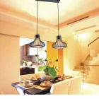 Simple Designed Pendant with 2 Lights (110~240V)