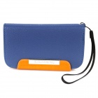 KALAIDENG Protective PU Leather Flip-Open Case Cover for HTC AMAZE 4G (G22) - Blue