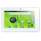 "Dropad A8I 7"" Capacitive Android 2.3 Tablet w/ G-Sensor / Camera / WiFi / External 3G - White (4GB)"