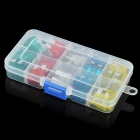 Blade Fuses Set for Car - Multicolored (Size M / 50PCS)