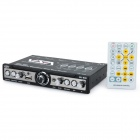 VA-540 Car Parametric Equalizer Audio Player w/ USB / Multi-Media Player - Black (DC 11~15V)
