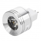 GU5.3 3500K 1W 90-1-Lumen LED Warm White Light Bulb (DC 12V)
