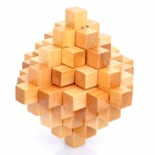 Brain Teaser Disassemble Reassembling Rebuild Wooden Puzzle Toy