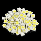 DIY 18-20LM 6000-6500K blanco SMD 5050 LED (100-pieza Pack)