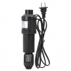 3W UV Light Lamp Sterilizer for Aquarium - Black (AC 220~240V / 2-Flat-Pin Plug / 150cm-Cable)