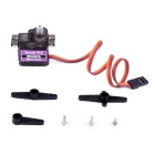 Tower Pro MG90S 14G Mini Metal Gear Steering Servo - Black