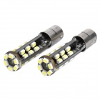 BA9S 3W 6500K 240-Lumen 30-3020 SMD LED White Light Car Lampen (DC 12 ~ 18V / Paar)