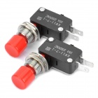 KW11-7-1 Micro Switches - Pair (AC 250V / 16A)