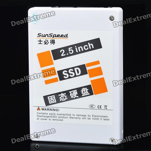 SunSpeed 2.5 SATA II MLC SSD Solid State Drive (32GB) new ssd for system m4 x5 00aj005 240 gb sata 2 5 mlc hs solid state drive 1 year warranty