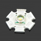 3W 20mm Cree P4 Aluminum PCB Board with Warm White LED Light - Silver