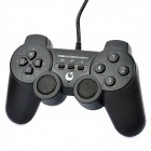 Wired Gaming Controller w/ Speakers / 2400mAh Battery Charger for iPhone / iPod Touch / iPad - Black