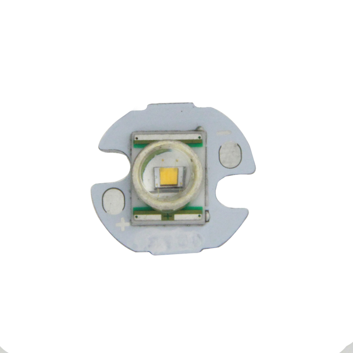 3W 16mm Cree XR-E P4 blanco caliente LED de aluminio Módulo Light Board PCB