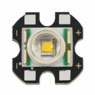 15mm Cree XR-E P4 Aluminum PCB Board with Warm White LED Light - Black