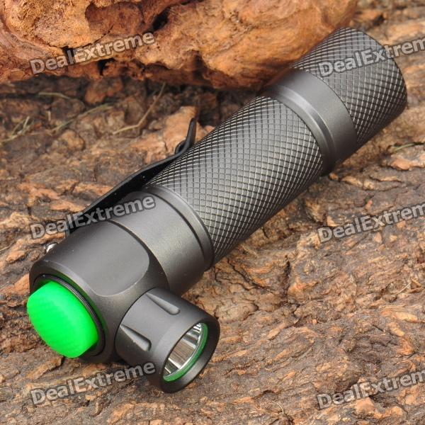 TrustFire Z2 5-Mode 280LM Memory White LED Flashlight w/ Clip - Grey (1 x 14500)
