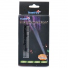 TrustFire Z2 Cree XPE R3 5-Mode 280LM Memory White LED Flashlight w/ Clip - Grey (1 x 14500)