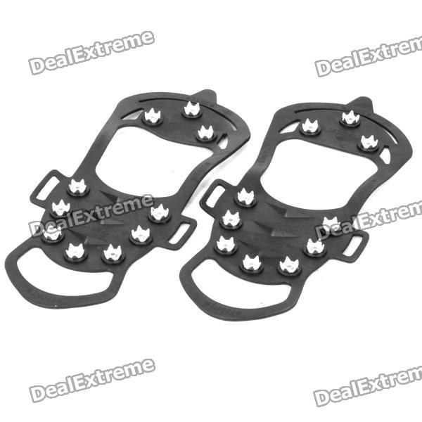 Outdoor Ice Climbing / Mountaineering Shoes Crampons (Size-XL / Pair)