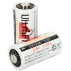 Ultrafire CR123A 3.0V 900mAh Disposable Batteries (Pair)