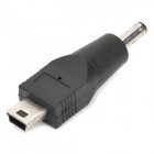 5 Pin Mini USB Male to 3.5 x 1.1mm Male Charging Adapter