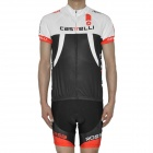 2012 CASTELLI Team Short Sleeves Bicycle Cycling Riding Suit Jersey + Shorts Set (Size-XL)