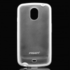 Protective PC + TPU Back Case for Samsung i9250 - White