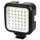 4W 6500K 160LX 36-LED Video Lamp - Black (1 x LI-42B)
