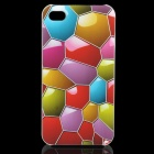 Stylish Diamonds Pattern Protective PC Back Case for Iphone 4 / 4S
