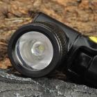 3-Mode 310LM White 1-LED Waterproof Flashlight w/ 90 Degree Pivoting Head - Yellow (1x14500)