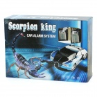 HS-600 Scorpion King 2-Way Car Alarm Security System w/ Remote Controller/LED Indicator - Black
