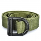 Tactical Durable Nylon Belt with Metal Buckle - Random Color (115cm Full Length)