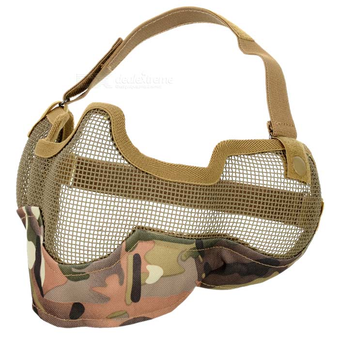 TMC SW2020 Protective Outdoor War Game Military Tactical Face Ears Shield Mask