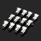 TV Female Socket Shield Connectors (12V / 10-Piece Pack)