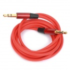 3.5mm Male to Male Audio Connection Cable - Red (110cm)