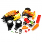 Intelligence Training Assembling Racing Car Toy