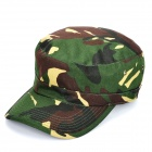 Stylish Military Outdoor Travel Cycling Hat / Cap - Camouflage Green