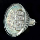GU5.3 3W 12-LED Multi-Colored Light Bulb (AC 110~220V)