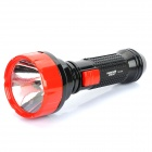 3W 3500K 80-Lumen 2-Mode Lithium Battery Rechargeable LED Flashlight