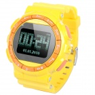 "GD920 GSM Touch Watch Phone w/1.3"" Resistive Screen, Quadband, Bluetooth 2.0 and FM - Yellow"
